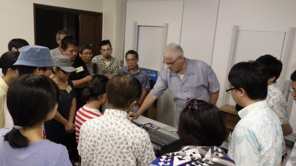 8月12日 音響・照明技術者コース