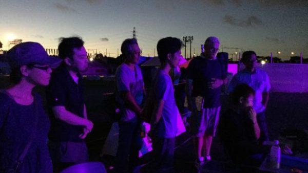 沖縄全島エイサーのリハーサル見学