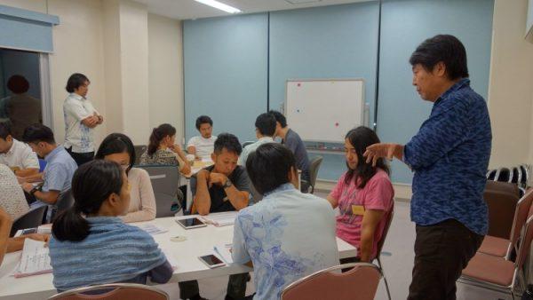 9月21日(水)プロデューサーコースの授業風景