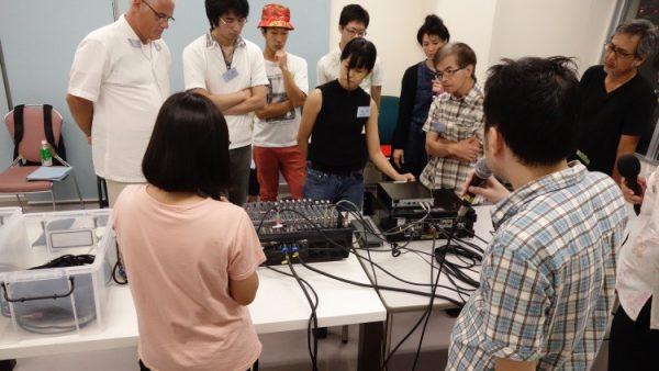 9月2日(金)音響・照明技術者コースの授業