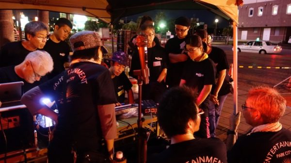 10月7日(金)音響・照明技術者コースの実習