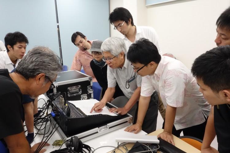11月4日(金)音響・照明技術者コースの室内実習