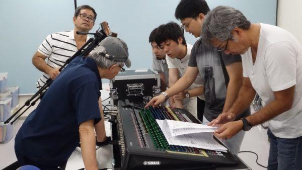 11月5日(土)音響・照明技術者コースの授業風景