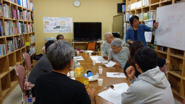 11月24日(木)メディアセンター見学とミーティング