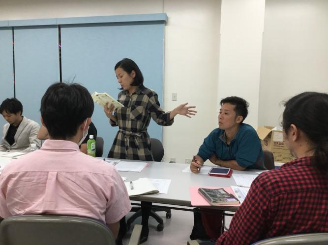 11月9日プロデューサーコースの授業風景