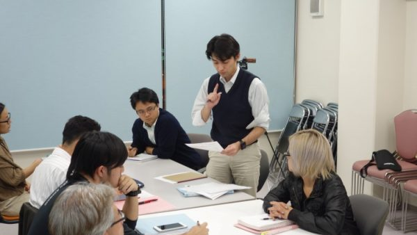 12月14日(水)プロデューサーコース授業風景