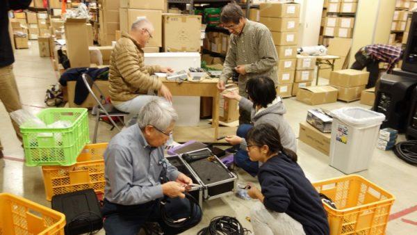 12月16日(金)音響・照明技術者コースの実習