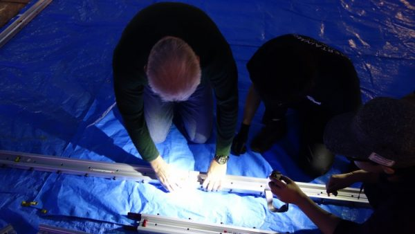 12月2日(金)音響・照明技術者コースの授業風景