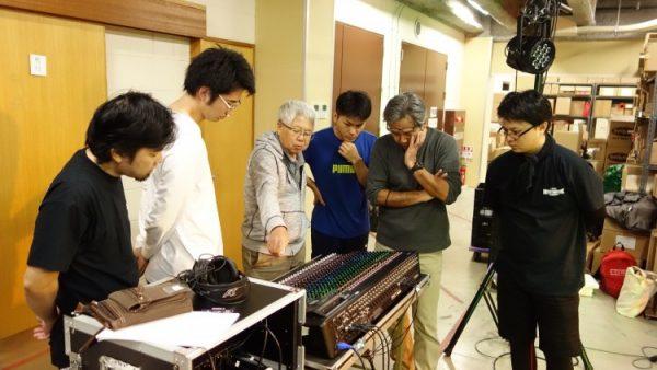 1月14日(土)音響・照明技術者コースの授業風景