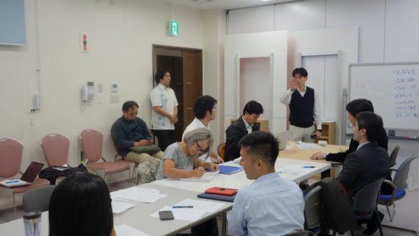 1月18日(水)プロデューサーコースの授業風景