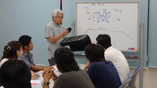 6月19日(月)音響技術者コース1回目講義