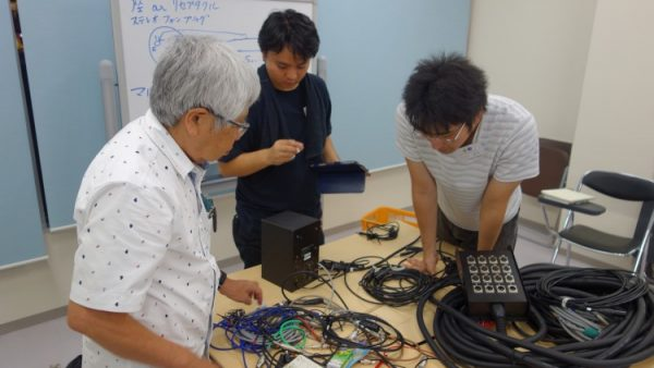7月3日(月)音響技術者コース3回目講義