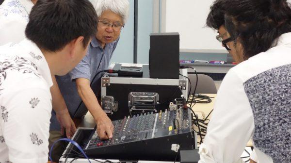 7月24日(月)音響技術者コース第5回目講義