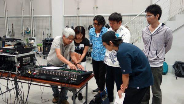 7月31日(月)音響技術者コース6回目講義