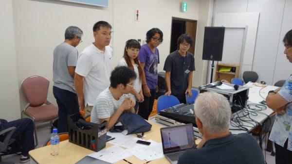 8月7日(月)音響技術者コース7回目講義