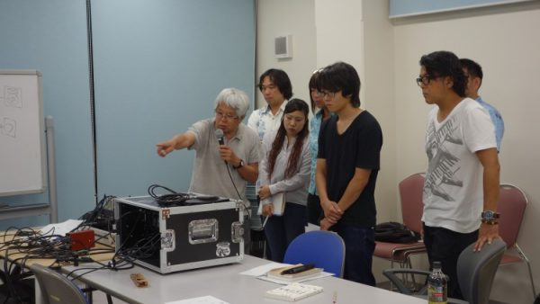 8月14日(月)音響技術者コース8回目講義