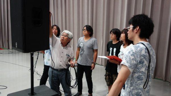 8月28日(月)音響技術者コース10回目講義