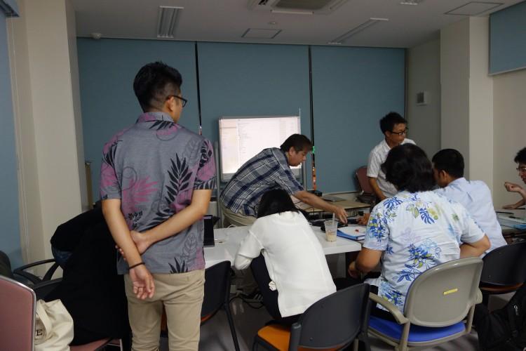 8月30日(水)映像技術者コース10回目講義