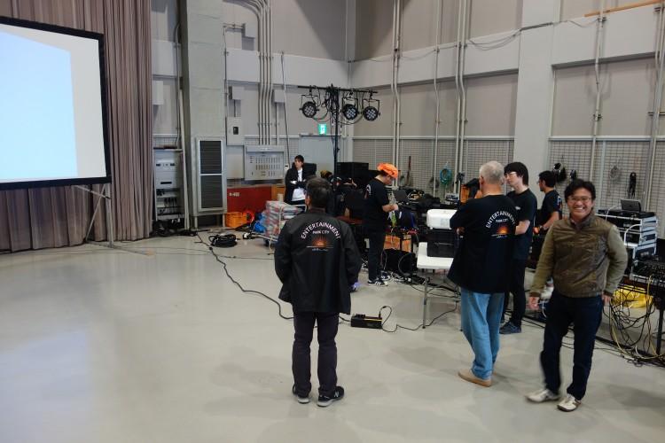 2月3日(土)最後の実習イベント準備