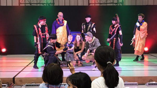 11月18日(日)琉球忍者「北谷菜切」公演